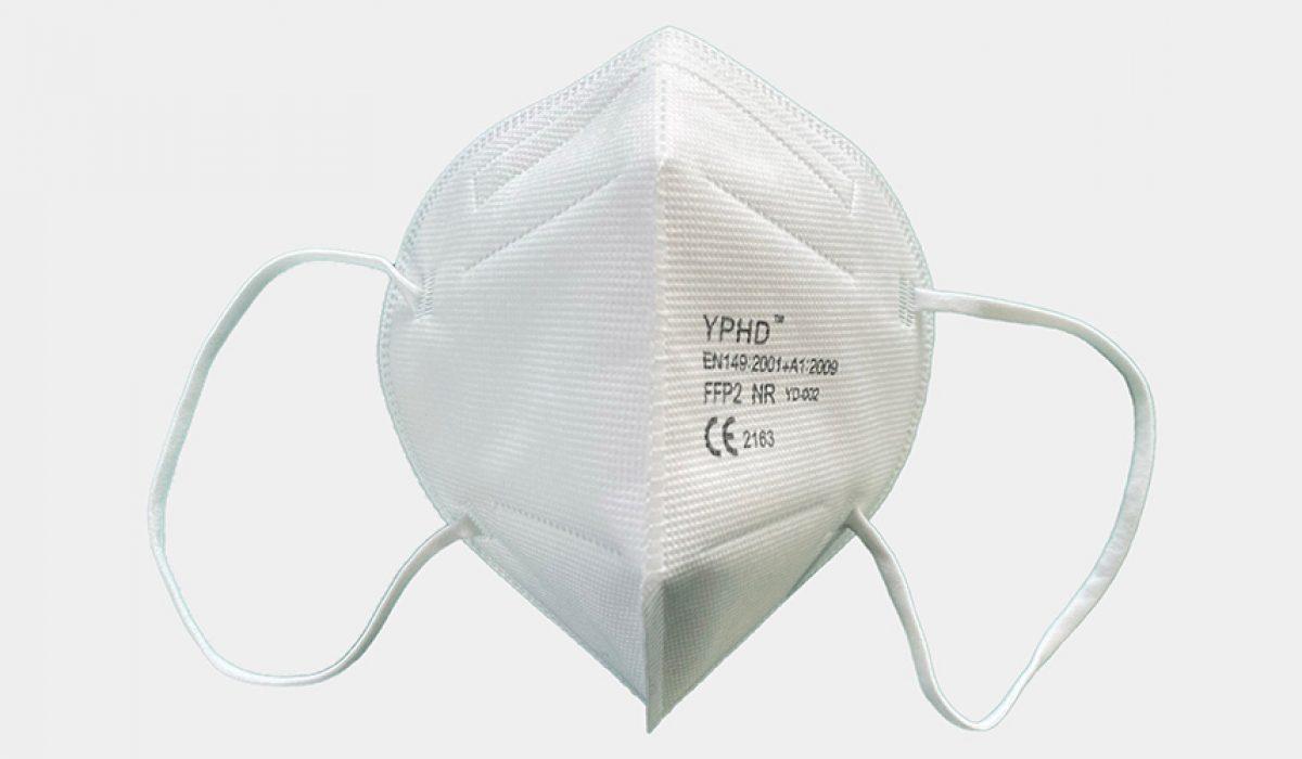 ImplanTec FFP2 Maske weiß